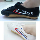 Shanghai feiyue Black White Canvas Running Wushu Taichi KungFu shoes Sneaker