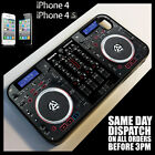 Cover for iPhone 4/4S/4G Twin CD DJ Decks Controller Mixer Digital Case *9027