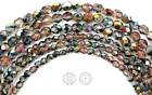 Kyпить Czech Fire Polished Round Faceted Glass Beads Crystal Santander coated 16