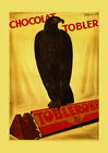 Eagle Toblerone Tobler Chocolate Food By Cappiello Vintage Poster Repro FREE S/H