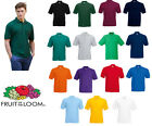 Fruit of the Loom 65/35 Polo All Colours & Sizes