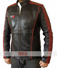 Mass Effect 3 N7 Game Real Leather Jacket - 100% Money Back Guarantee!!