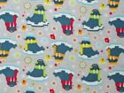 PACK N PLAY or PLAYPEN COVER / FLANNEL - WALRUS IN HATS & SCARVES / SNOWFLAKES