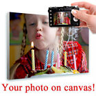LARGE Your Photo Print on Canvas custom printing own picture image poster giclee