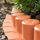 4.05 - 20.25 m lawn border edge, choice of 2 colours, frost proof plastic edging