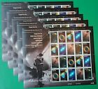 100 (5 Panes Sheets x 20) American Astronomer EDWIN POWELL HUBBLE 33¢ Stamps