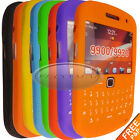 For Blackberry Curve 9900 9930 8color Gel Silicone rubber Keypad Case Cover skin