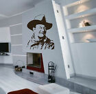 JOHN WAYNE PORTRAIT  - WALL ART DECAL STICKER
