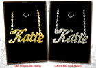 Name Necklaces 18ct/18k Gold Plated Designer Jewelry Gifts Fashion Personalised