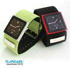 iPearl Alloy Watch Case for iPod Nano 6 with Nylon Strap - Multicolor Available