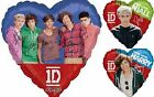 "ONE Direction Band, Harry & Niall Helium Foil Balloon 17"" plus ribbon & Weight"