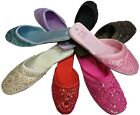 Womens New Summer Slip On Mules Light Diamate Black PInk White Lilac 3 4 5 6 7 8