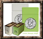 Half Dollar BCW Foam - Coin Slab Inserts Only - Choose Quantity - White or Lime