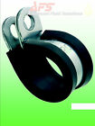 EPDM Rubber Lined P Clips Air Hose Pipe Clamps Cable Retention Tube Clip Mikalor