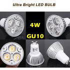 4x10x12x 4w led bulbs GU10 MR16 E27 E14 Day Warm White High Power Energy Saving