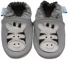 NEW SOFT LEATHER BABY & TODDLER SHOES 0-6,6-12,12-18,18-24 Mth & 2-3 Yrs ZEBRA
