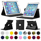360° ROTATING CASE FOR APPLE IPAD v2/3/4th GENERATION PU LEATHER COVER/STAND
