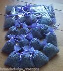 12  Lavender Bags Aromatic  Moth Repellent  Calming. Cello wrapped