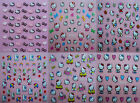 Glitter Cute Hello Kitty 3D Nail Art Stickers UV Acrylic Decals Decorations