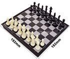Magnetic folding chess board portable set with pieces games sport camping travel