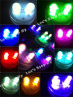 10 SUPER Bright Dual LED Floral Tea Light Submersible Floralyte Party Wedding