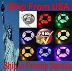 5050 RGB Waterproof Flexible 300 LED Strip Light + 44 IR remote controller 5 mts