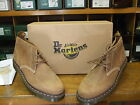 DR. MARTENS TYRELL TAN ICECAP LEATHER 3 EYELET BOOTS SIZES  7, 8, 9 +11