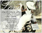 Motorcycle Harley WEDDING SHOWER Save the Date Invitaitons  CUSTOM Cards