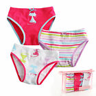 "3Pcs Vaenait Baby Toddler Kids Girl Clothes Underwear Briefs Pantie""Cats Pop"""