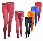 NEW WOMEN'S STRETCHED D&D PANTS JEANS FIT SKINNY JEAN JEGGING SIZE 6-14
