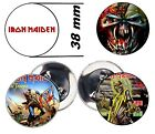 Chapa,Pin,Badge,Button , Iron Maiden.