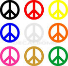 PEACE Decal / Sticker 10 colors to choose from - 4 inch