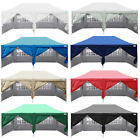 Waterproof 20x10' EZ Pop Up Canopy Gazebo Party Wedding Tent 6 Walls reinforced