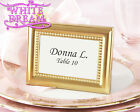 Gold Beaded - Photo Frames Wedding Favour | Place Card Holder