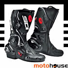 SIDI WOMENS VERTIGO LEI BOOTS SPORT-ON-ROAD RACE STREET LORICA BLACK WHITE