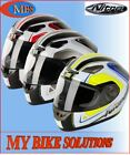 Nitro VERTICE Full Face Motorcycle Motorbike Scooter Racing Helmet