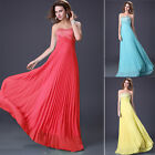 New Elegant Bridesmaid Dress Party Ball Gown Formal Evening Dress Size UK 6 -20