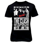 6047 1981 BONDS CASINO THE CLASH T-SHIRT Joe Strummer punk rock indie vintage