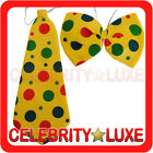 Clown Bow Tie Fancy Dress Up Costume Party Halloween Adult Mens Womens Unisex