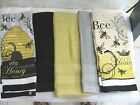 KITCHEN TOWELS/HAND  QUALITY  TOWELS 28 X 17 bee hive and bee honey