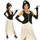 Adult 1920's Great Gatsby Flapper Girl Costume Twenties Fancy Dress Party Outfit