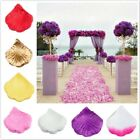 100pcs Silk Rose Flower Petals Leave Wedding Table Confetti  Party Decorations