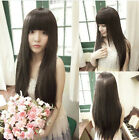 New Style Women Girls' Sexy Long Fashion Straight Hair Wig 3 Colors Available