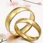 Anyword 18K Gold Lord of the rings Wedding Matching Couple Titanium Rings SET