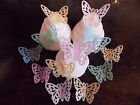 20 Precut Edible wafer/rice paper butterflies cake/cupcake toppers(2)