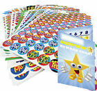 400 Reward Stickers + Reward Chart - Stars, Smiley, Sparkle for Teachers Schools