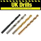 1 x HSS DRILLS TITANIUM TIN GROUND COBALT QUALITY JOBBER DRILL BITS LOW PRICES