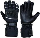 Leather & Textile Motorbike Motorcycle Scooter Thermal Waterproof Touring Gloves