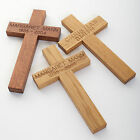 Carved Wooden Christening Confirmation Gift Funeral Memorial Favour Grave Marker