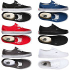 Vans Authentic Unisex Trainers For Mens / Womens Canvas Plimsolls Shoes